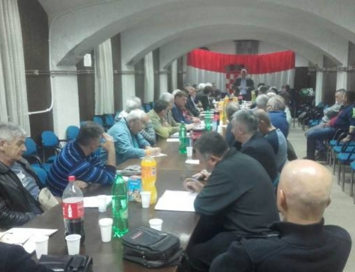 Скупштина Жупанијске организације СДСС-а Сисачко-мославаче жупаније једногласно усвојила извештај о раду дожупана Богдана Ркмана