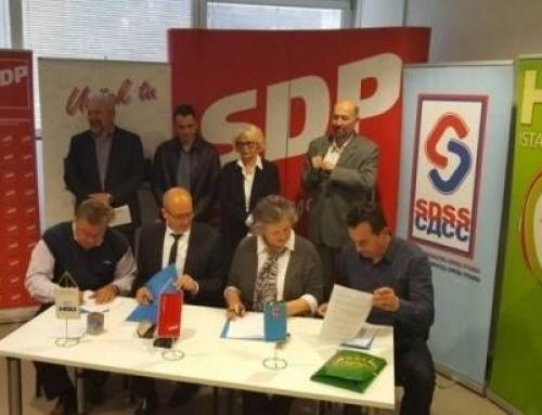 Koalicija SDP-HSU-SDSS-HSS za Istarsku županiju