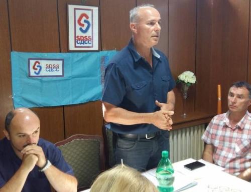 Скупштина ОО СДСС Трпиња: Светислав Микеревић остаје на челу страначког огранка