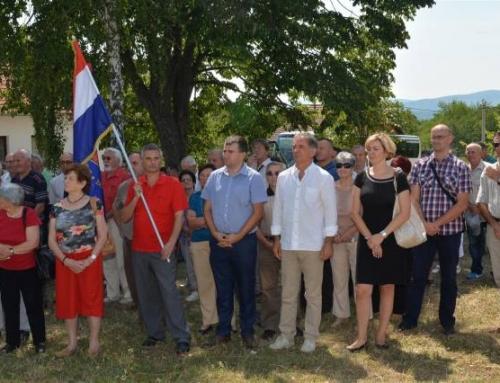 Komemoracija za žrtve ustaških zločina u Sloboštini