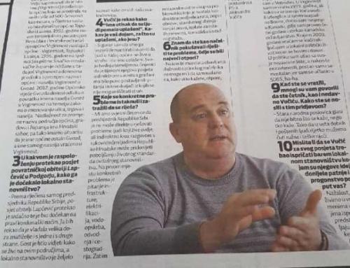 Jovičić: Predsjednika Vučića smo dočekali kako dolikuje kordunaškim običajima