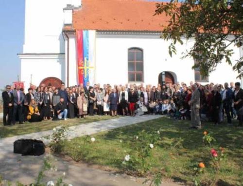 Obnovljena crkva u Pačetinu
