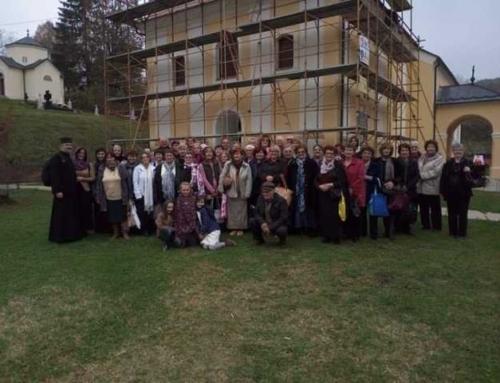 Srbi zapadne Slavonije posjetili manastir Lepavinu