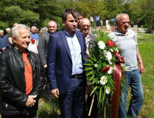 Počast poginulim oslobodiocima Slavonije 1945.