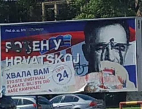 Plakati SDSS-a bili su test na kojem je hrvatska gadno pala!!!