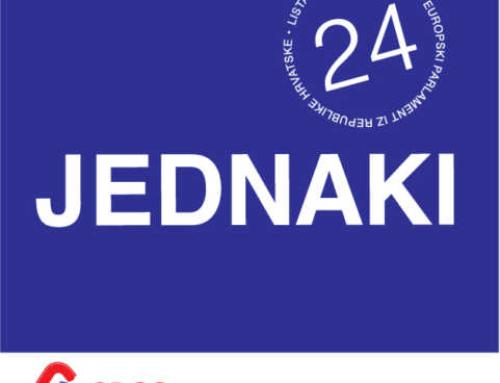 Za Srbe jednake u Hrvatskoj, za Hrvatsku jednaku u Evropi!